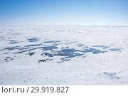 Купить «Lake Baikal in winter», фото № 29919827, снято 8 марта 2017 г. (c) Юлия Белоусова / Фотобанк Лори