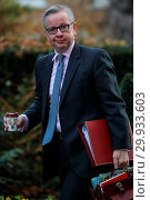 Купить «Ministers attend the weekly Cabinet meeting at Downing Street Featuring: Michael Gove Where: London, United Kingdom When: 19 Dec 2017 Credit: WENN.com», фото № 29933603, снято 19 декабря 2017 г. (c) age Fotostock / Фотобанк Лори