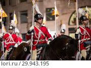 Купить «Grand parade in Barcelona», фото № 29943195, снято 5 января 2017 г. (c) Яков Филимонов / Фотобанк Лори