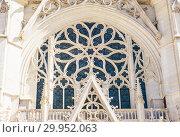 Europe, France, Vincennes, Fragment of Chateau de Vincennes, The Sainte Chapelle (2018 год). Стоковое фото, фотограф Николай Коржов / Фотобанк Лори