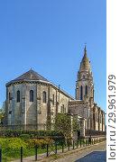 Church of Sainte Marie de la Bastide, Bordeuax, France (2018 год). Стоковое фото, фотограф Boris Breytman / Фотобанк Лори