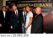 Chris Eubank Jr vs George Groves - Press Conference at the Savoy, ... (2017 год). Редакционное фото, фотограф WENN.com / age Fotostock / Фотобанк Лори