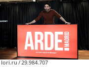 Купить «TV show 'ARDE Madrid' photocall Featuring: paco leon Where: Madrid, Spain When: 28 Nov 2017 Credit: Oscar Gonzalez/WENN.com», фото № 29984707, снято 28 ноября 2017 г. (c) age Fotostock / Фотобанк Лори