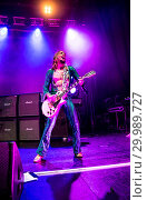 Купить «The Darkness performing live on stage at the O2 Guildhall Southampton in Southampton, Hampshire. Featuring: The Darkness, Justin Hawkins Where: Southampton...», фото № 29989727, снято 23 ноября 2017 г. (c) age Fotostock / Фотобанк Лори