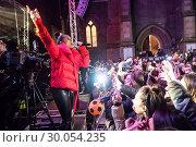 Купить «Celebrities attend the annual Perth City lights Xmas lights switch on, with musical performances. Featuring: Alesha Dixon Where: Perth, United Kingdom When: 18 Nov 2017 Credit: Euan Cherry/WENN.com», фото № 30054235, снято 18 ноября 2017 г. (c) age Fotostock / Фотобанк Лори