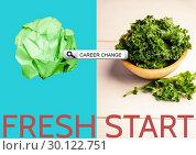 Купить «Browser research against salad picture», фото № 30122751, снято 23 ноября 2016 г. (c) Wavebreak Media / Фотобанк Лори