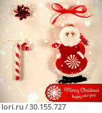Composite image of banner merry christmas. Стоковое фото, агентство Wavebreak Media / Фотобанк Лори