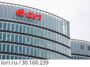 Купить «EON, Headquarters, Buildings, Essen, North Rhine-Westphalia, Ruhr Area, Germany, Europe», фото № 30160239, снято 6 января 2019 г. (c) Caro Photoagency / Фотобанк Лори