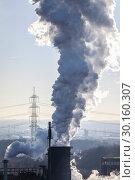 Купить «Prosper coking plant, industry in the Ruhr area, Bottrop, Germany, Europe», фото № 30160307, снято 20 января 2019 г. (c) Caro Photoagency / Фотобанк Лори