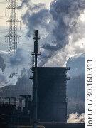 Купить «Prosper coking plant, industry in the Ruhr area, Bottrop, Germany, Europe», фото № 30160311, снято 20 января 2019 г. (c) Caro Photoagency / Фотобанк Лори