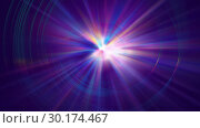 Купить «Colorful galaxy abstractipn with bright rays, 3d render background, computer generated backdrop», иллюстрация № 30174467 (c) Роман Будников / Фотобанк Лори