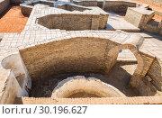 Археологический раскоп в Бухаре (2016 год). Стоковое фото, фотограф Юлия Бабкина / Фотобанк Лори