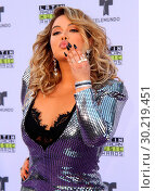 Купить «Latin American Music Awards 2017 Arrivals held at the Dolby Theatre in Hollywood, California. Featuring: Chiquis Rivera Where: Los Angeles, California...», фото № 30219451, снято 26 октября 2017 г. (c) age Fotostock / Фотобанк Лори