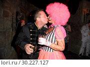 Купить «Halloween Party hosted by Natascha Ochsenknecht at Berlin Dungeon. Featuring: Marcus von Anhalt, Natascha Ochsenknecht Where: Berlin, Germany When: 23 Oct 2017 Credit: WENN.com», фото № 30227127, снято 23 октября 2017 г. (c) age Fotostock / Фотобанк Лори