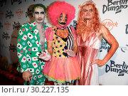 Купить «Halloween Party hosted by Natascha Ochsenknecht at Berlin Dungeon. Featuring: Natascha Ochsenknecht, Umut Kekilli, Wilson Gonzalez Ochsenknecht Where:...», фото № 30227135, снято 23 октября 2017 г. (c) age Fotostock / Фотобанк Лори