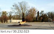 Купить «Вечный огонь», фото № 30232023, снято 27 февраля 2019 г. (c) Ed_Z / Фотобанк Лори