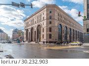 Купить «Москва. Центральный детский магазин на Лубянке», фото № 30232903, снято 2 марта 2019 г. (c) Parmenov Pavel / Фотобанк Лори