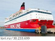 Купить «Viking Line. Cолнечный день. Хельсинки. Финляндия», фото № 30233699, снято 20 сентября 2018 г. (c) Екатерина Овсянникова / Фотобанк Лори