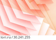 Купить «3d structure of orange red sheets», иллюстрация № 30241255 (c) EugeneSergeev / Фотобанк Лори