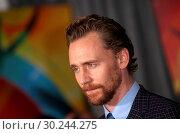 Купить «World premiere of 'Thor: Ragnarok' at El Capitan Theatre Featuring: Tom Hiddleston Where: Hollywood, California, United States When: 10 Oct 2017 Credit: FayesVision/WENN.com», фото № 30244275, снято 10 октября 2017 г. (c) age Fotostock / Фотобанк Лори