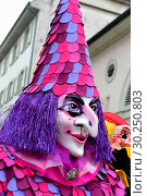 Купить «Switzerland Basel Carnival», фото № 30250803, снято 20 июня 2019 г. (c) age Fotostock / Фотобанк Лори