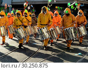 Купить «Switzerland Basel Carnival», фото № 30250875, снято 20 июля 2019 г. (c) age Fotostock / Фотобанк Лори