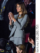 Купить «Royals and politicians attend the Invictus Games Opening Ceremony at Air Canada. Featuring: Melania Trump Where: Toronto, Canada When: 23 Sep 2017 Credit: Euan Cherry/WENN.com», фото № 30280751, снято 23 сентября 2017 г. (c) age Fotostock / Фотобанк Лори