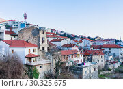 View  on Mostar  Town, Bosnia and Herzegovina (2018 год). Стоковое фото, фотограф Николай Коржов / Фотобанк Лори