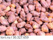Купить «Roasted kernels of nuts», фото № 30327659, снято 9 марта 2019 г. (c) Владимир Белобаба / Фотобанк Лори