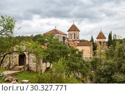 Купить «Old Motsameta Monastery or Monastery of the Holy Martyrs David and Constantine on a picturesque hill near Kutaisi, Georgia», фото № 30327771, снято 26 сентября 2018 г. (c) Юлия Бабкина / Фотобанк Лори