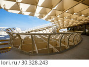 Купить «winding paths Metropol Parasol in Plaza de la Encarnacion in Seville», фото № 30328243, снято 10 сентября 2015 г. (c) Ирина Мойсеева / Фотобанк Лори