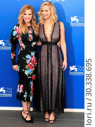 Купить «Photocall for 'Mother!' during the 74th Venice Film Festival in Venice, Italy. Featuring: Jennifer Lawrence, Michelle Pfeiffer Where: Venice, Veneto, Italy When: 05 Sep 2017 Credit: WENN.com», фото № 30338695, снято 5 сентября 2017 г. (c) age Fotostock / Фотобанк Лори