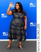 Купить «74th Venice Film Festival - 'The Shape of Water' - Photocall Featuring: Octavia Spencer Where: Venice, Italy When: 31 Aug 2017 Credit: WENN.com», фото № 30343295, снято 31 августа 2017 г. (c) age Fotostock / Фотобанк Лори