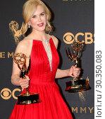 Купить «69th Primetime Emmy Awards - Press Room at the JW Marriott Gold Ballroom on September 17, 2017 in Los Angeles, CA Featuring: Nicole Kidman Where: Los Angeles...», фото № 30350083, снято 17 сентября 2017 г. (c) age Fotostock / Фотобанк Лори