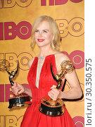 Купить «HBO Emmy Party 2017 Featuring: Nicole Kidman Where: Los Angeles, California, United States When: 18 Sep 2017 Credit: Apega/WENN.com», фото № 30350575, снято 18 сентября 2017 г. (c) age Fotostock / Фотобанк Лори