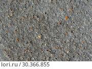 Купить «Серый естественный фон натурального камня с вкраплениями», фото № 30366855, снято 12 сентября 2018 г. (c) А. А. Пирагис / Фотобанк Лори