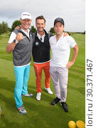Купить «Celebrities attending GRK Golf Charity Masters in Leipzig. Featuring: Axel Schulz, Florian Silbereisen, Jan Josef Liefers Where: Leipzig, Germany When: 19 Aug 2017 Credit: WENN.com», фото № 30371467, снято 19 августа 2017 г. (c) age Fotostock / Фотобанк Лори