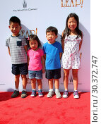 Купить «Premiere Of The Weinstein Company's 'Leap!' Featuring: The Cheng Kids Where: Los Angeles, California, United States When: 19 Aug 2017 Credit: FayesVision/WENN.com», фото № 30372747, снято 19 августа 2017 г. (c) age Fotostock / Фотобанк Лори