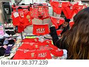Spain, Mallorca - Weekly market in Felanitx (2018 год). Редакционное фото, агентство Caro Photoagency / Фотобанк Лори