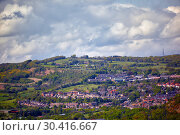 Купить «Residential areas of townhouses in South Yorkshire. England», фото № 30416667, снято 8 мая 2009 г. (c) Serg Zastavkin / Фотобанк Лори