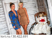 Celebrities get dolled up for a night of fright at the 'Annabelle... (2017 год). Редакционное фото, фотограф Tom Nicholson / PinPep / WENN / age Fotostock / Фотобанк Лори
