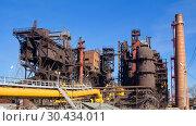 """Купить «JSC """"Satkinsky iron foundry"""". Old factory in Satka», фото № 30434011, снято 18 октября 2012 г. (c) Акиньшин Владимир / Фотобанк Лори"""