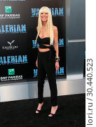 Купить «World premiere of 'Valerian and the City of a Thousand Planets' at the TCL Chinese Theatre - Arrivals Featuring: Tara Reid Where: Los Angeles, California...», фото № 30440523, снято 17 июля 2017 г. (c) age Fotostock / Фотобанк Лори