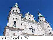Towers of Troitskyi monastery in Chernihiv (2015 год). Стоковое фото, фотограф Александр Птах / Фотобанк Лори
