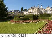 Granja de San Ildefonso Palace, Segovia, Castilla Leon, Spain. Стоковое фото, фотограф Pedro Salaverría / age Fotostock / Фотобанк Лори