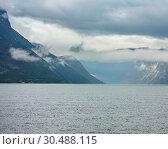 Купить «Summer fjord view, Norway», фото № 30488115, снято 18 июля 2013 г. (c) Юрий Брыкайло / Фотобанк Лори