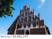 Купить «Malbork Castle, UNESCO World Heritage Site, Malbork, Poland, Europe», фото № 30492215, снято 16 августа 2018 г. (c) age Fotostock / Фотобанк Лори