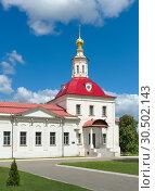 Купить «Temple of Revival of Slovushchego», фото № 30502143, снято 9 июня 2018 г. (c) Алексей Голованов / Фотобанк Лори