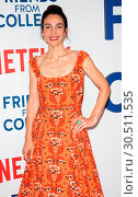 New York premiere of 'Friends From College' - Arrivals (2017 год). Редакционное фото, фотограф Patricia Schlein / WENN.com / age Fotostock / Фотобанк Лори