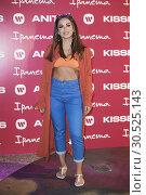 Купить «Brazilian Singer Anitta presents 'Ipanema' New Footwear Collection at Reina Sofia Museum on April 9, 2019 in Madrid, Spain», фото № 30525143, снято 9 апреля 2019 г. (c) age Fotostock / Фотобанк Лори